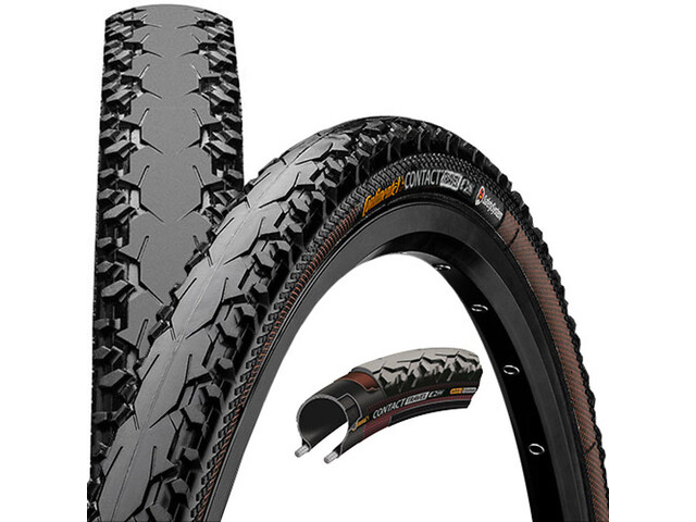 Continental Travel Contact E-25 Wired-on Tire 28x1,60 Duraskin